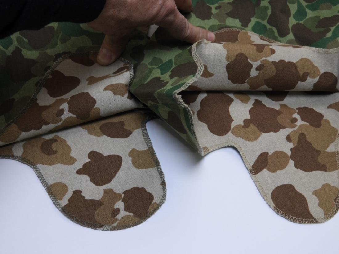WWII - Korean War Period Helmet Camouflage Covers - 7