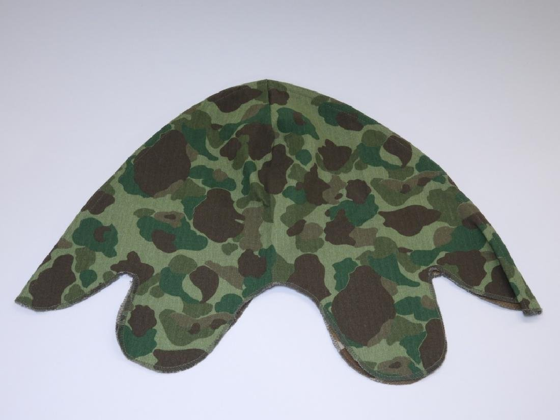 WWII - Korean War Period Helmet Camouflage Covers - 9