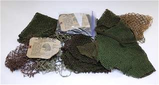 WWII US Army Helmet Camouflage Nets 10