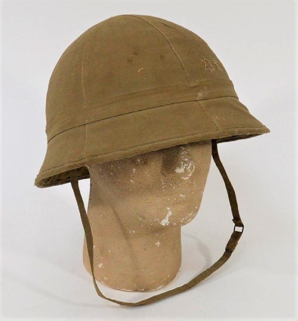 WWII Japanese Type 98 Soft Sun / Combat Helmet