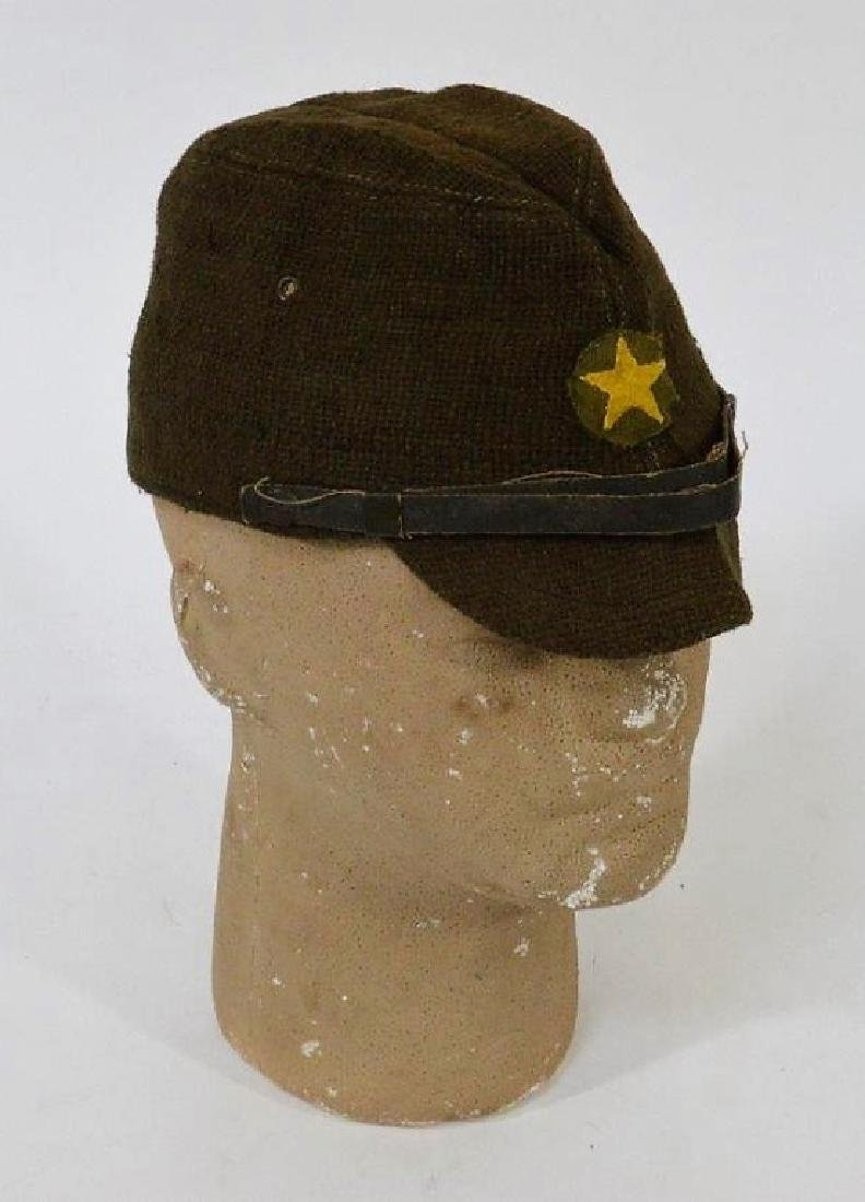 WWII Japanese Army Green Soft Cap
