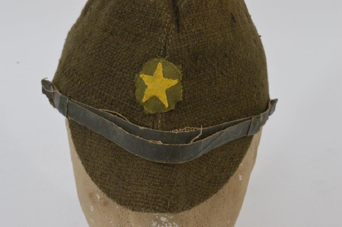 WWII Japanese Army Green Soft Cap - 5