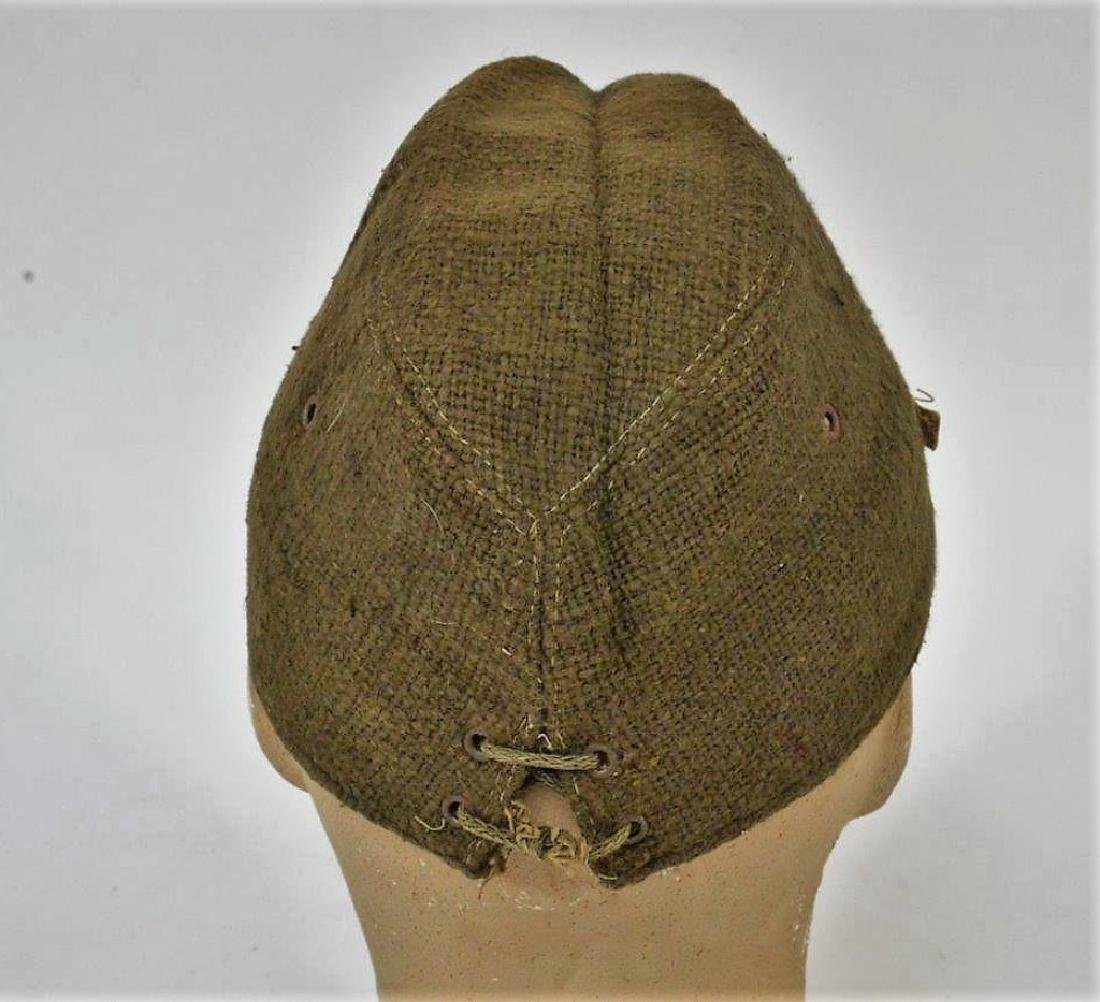 WWII Japanese Army Green Soft Cap - 6