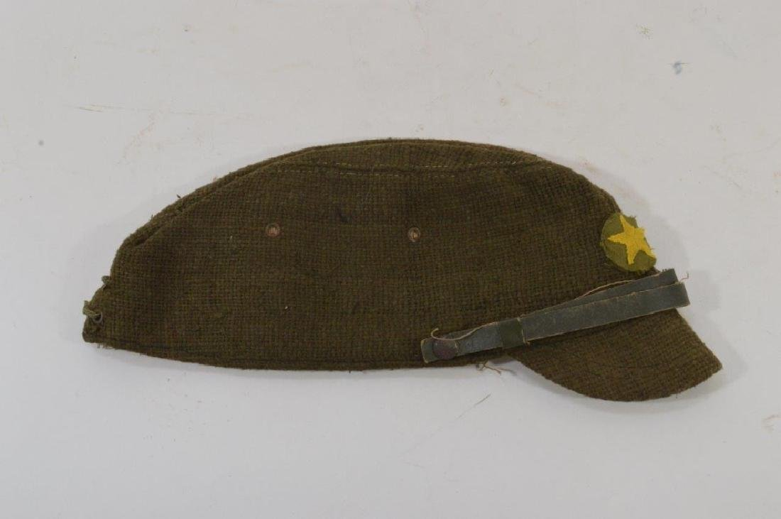 WWII Japanese Army Green Soft Cap - 9
