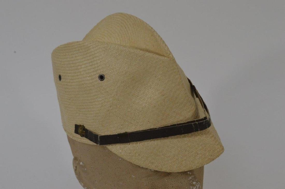 WWII Japanese Army Tan Summer Soft Cap - 2