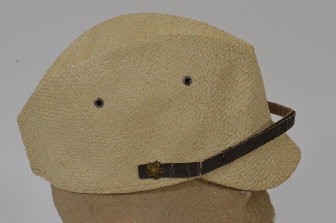 WWII Japanese Army Tan Summer Soft Cap - 3