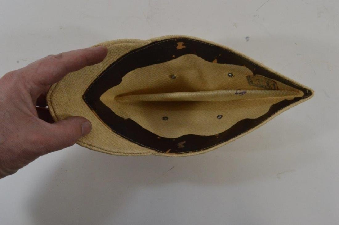 WWII Japanese Army Tan Summer Soft Cap - 5