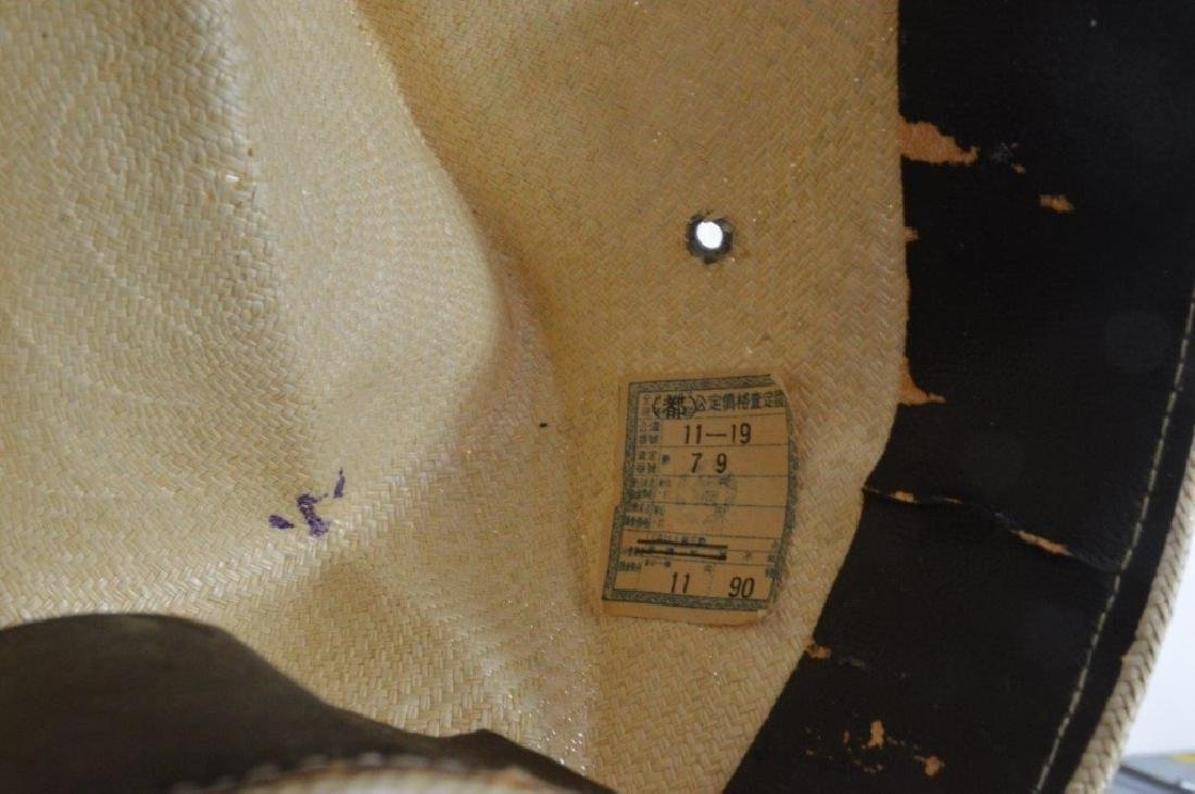 WWII Japanese Army Tan Summer Soft Cap - 6