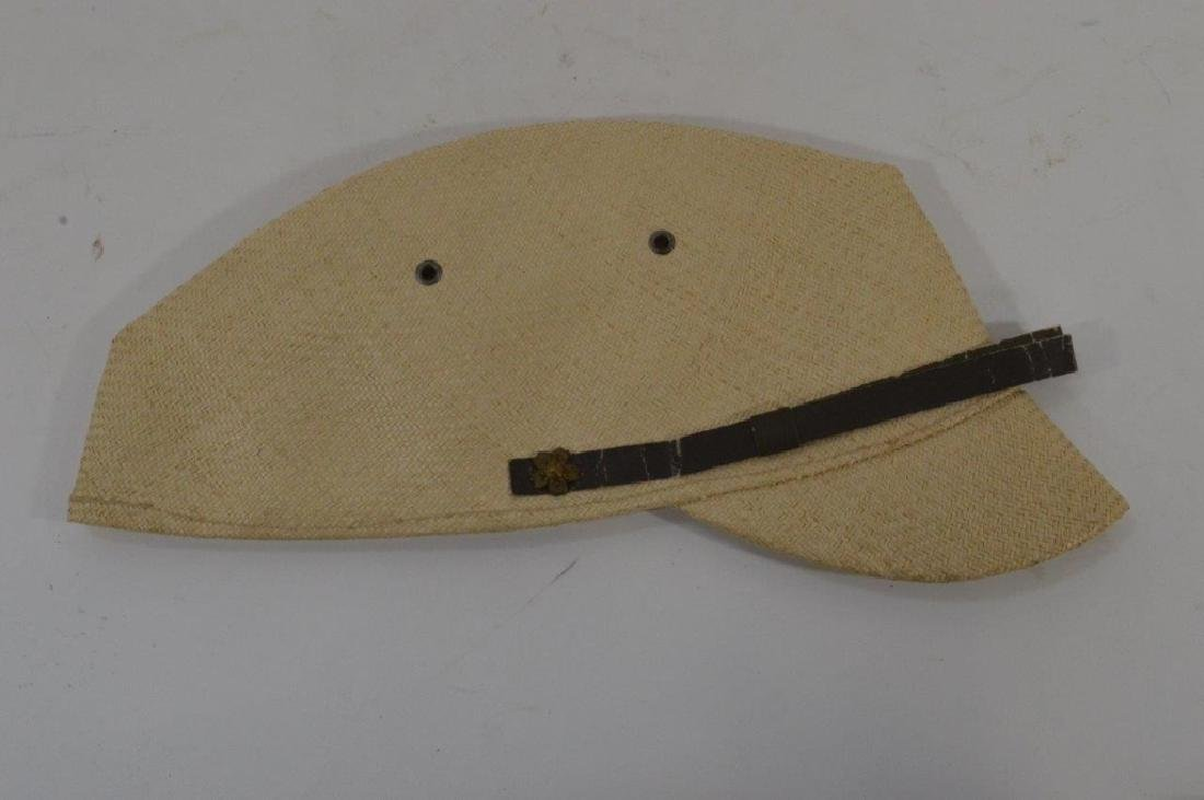 WWII Japanese Army Tan Summer Soft Cap - 7