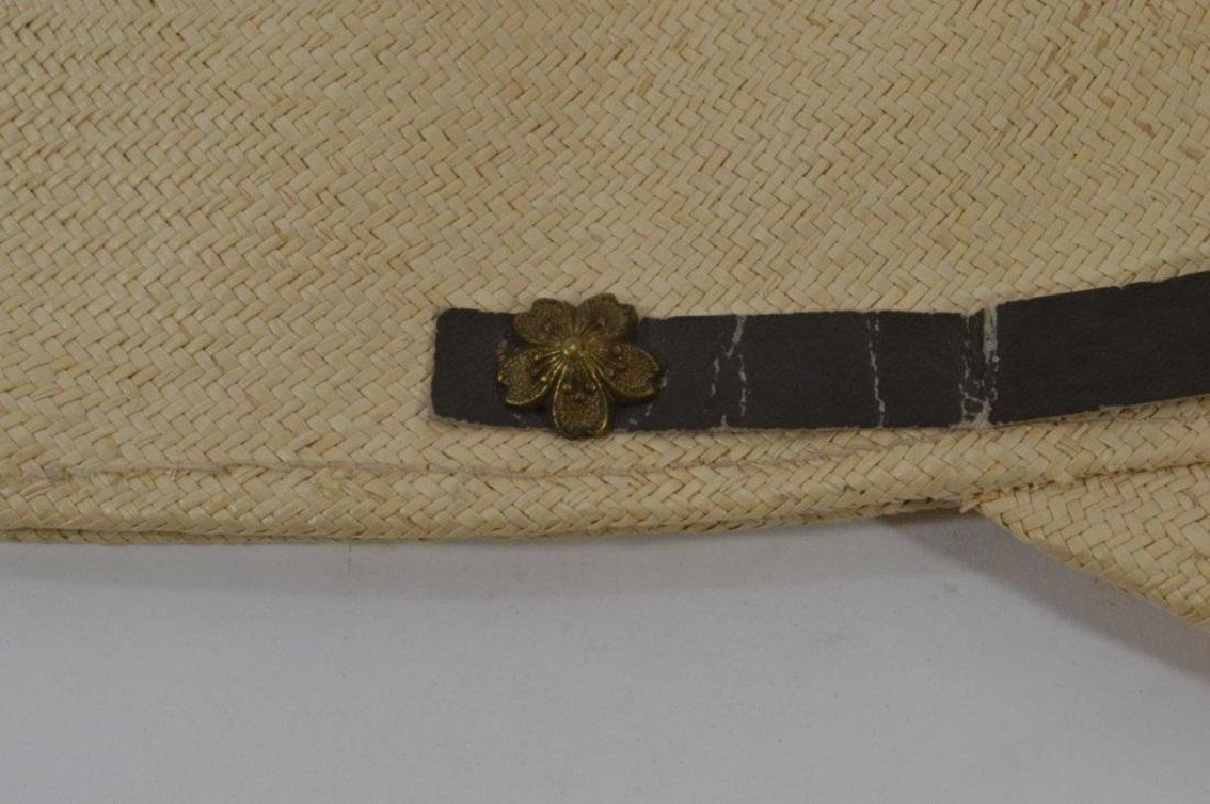 WWII Japanese Army Tan Summer Soft Cap - 8