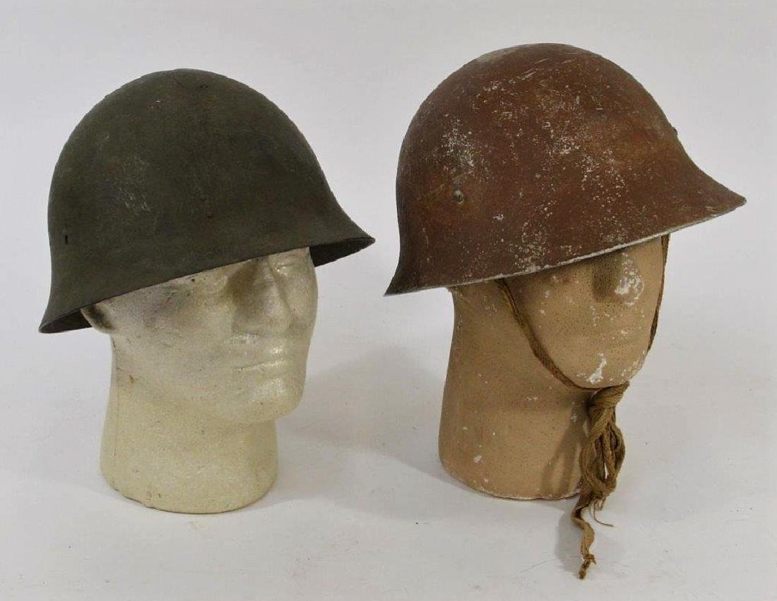WWII Japanese Army Helmets (2)