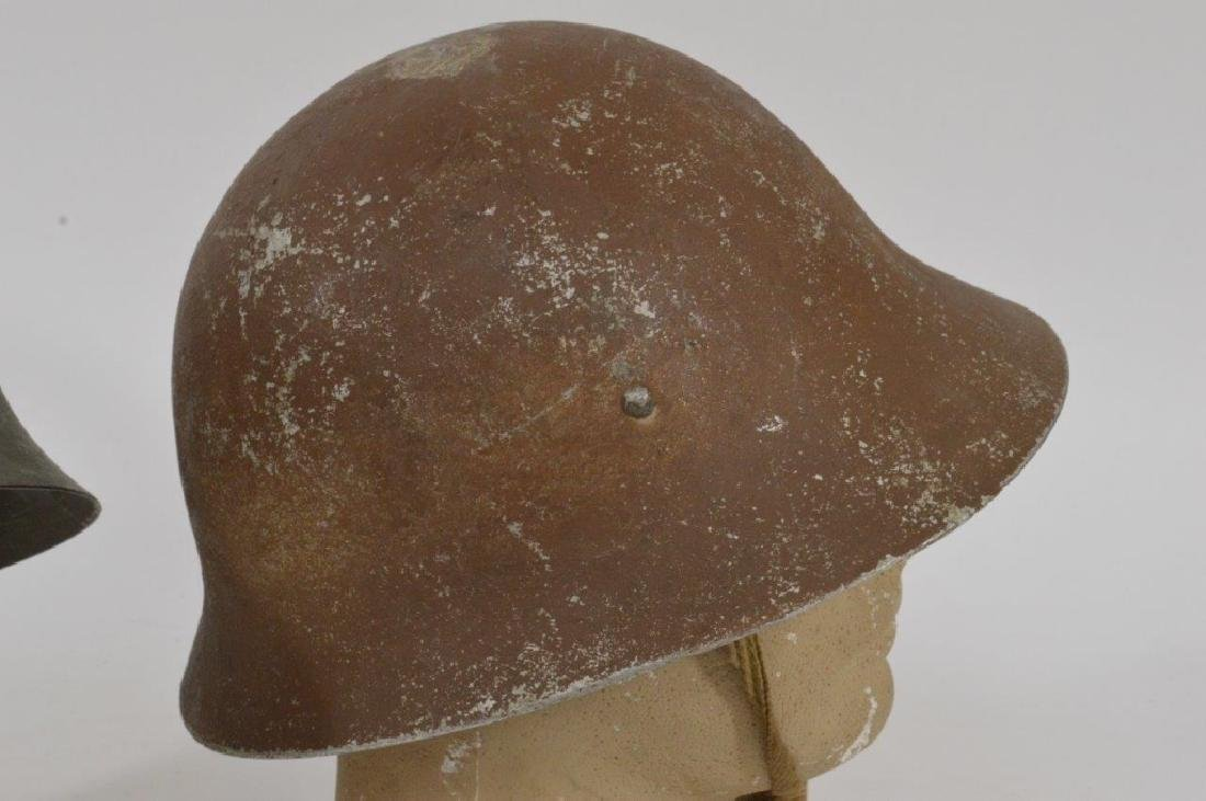 WWII Japanese Army Helmets (2) - 3