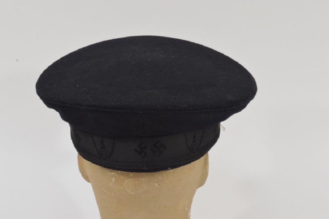 WWII German DRKB Veterans Visor Cap 2nd Pattern - 4