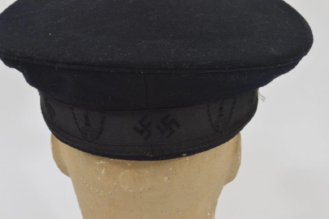 WWII German DRKB Veterans Visor Cap 2nd Pattern - 5