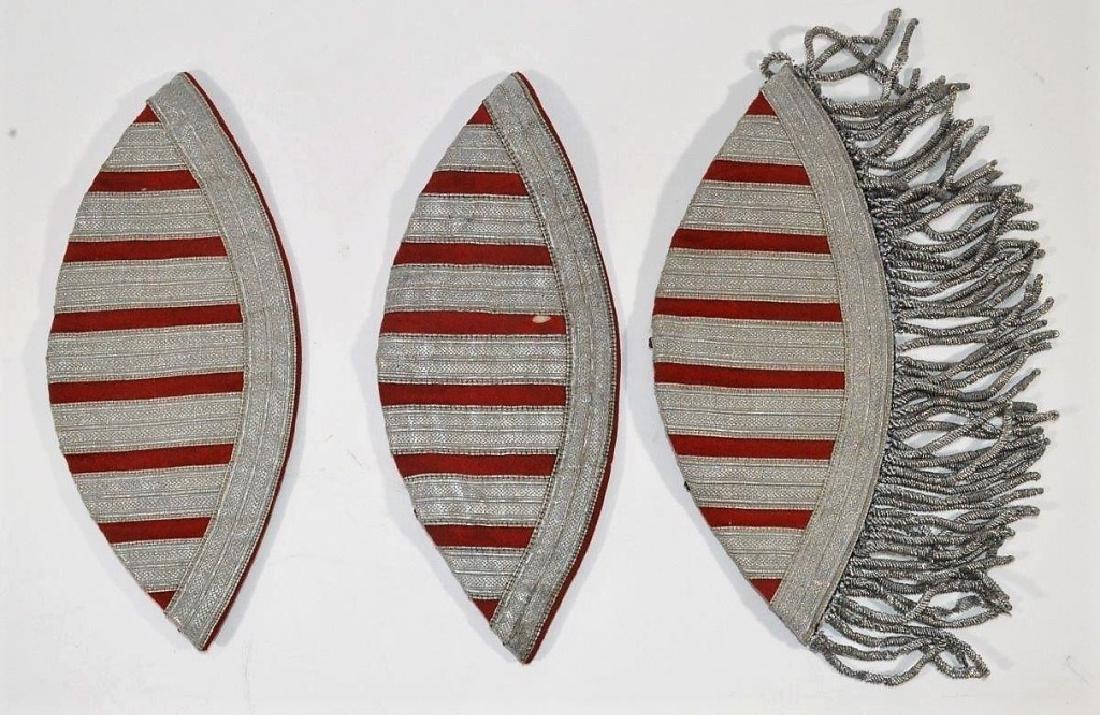 WWII German Musicians Swallow Nest Shoulder Boards