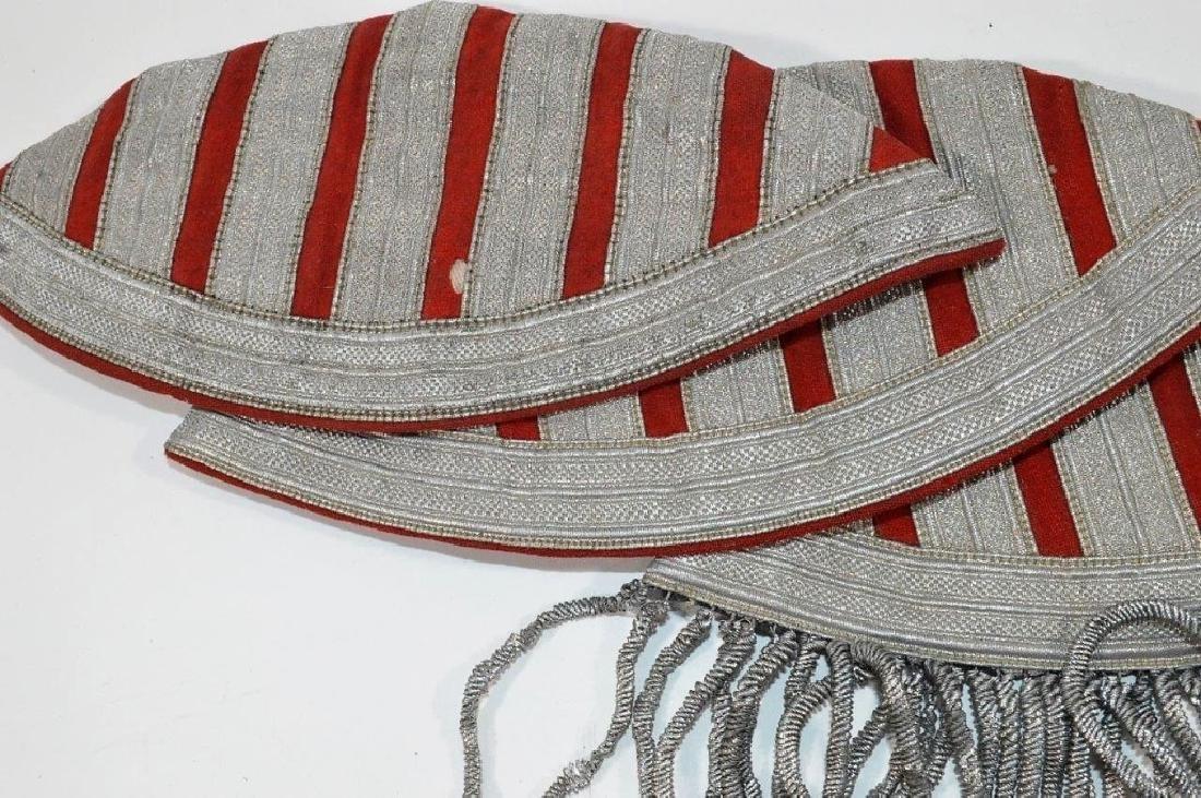 WWII German Musicians Swallow Nest Shoulder Boards - 3