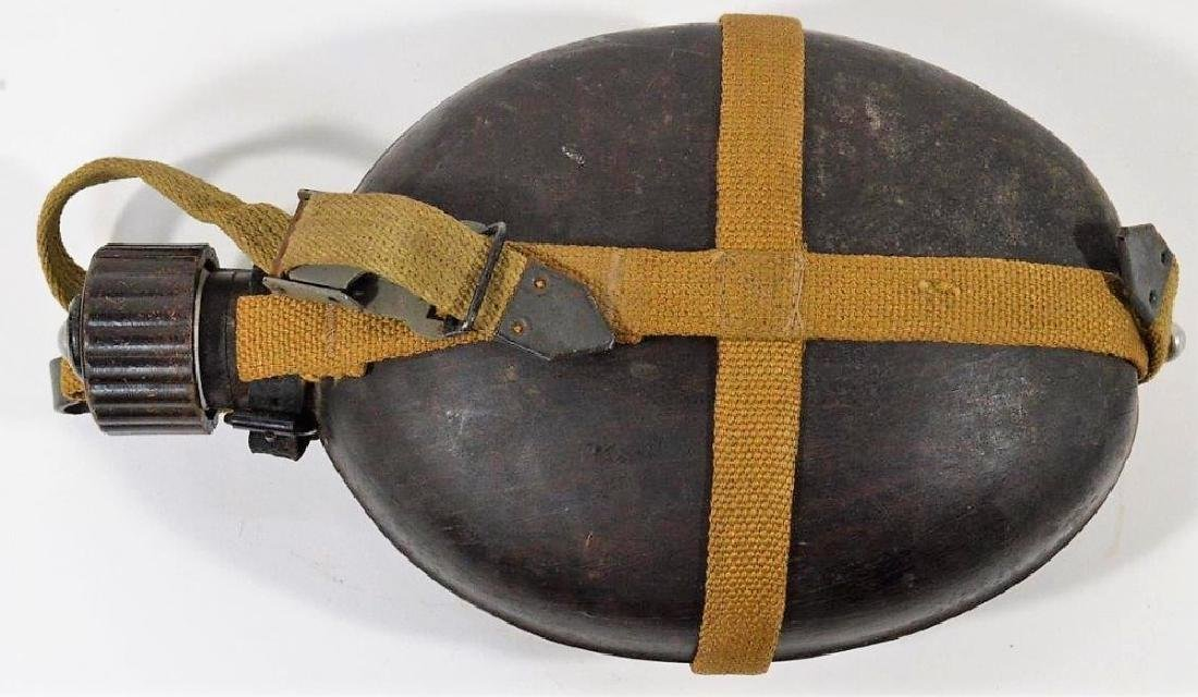 WWII German Army Tropical Africa Korps Canteen