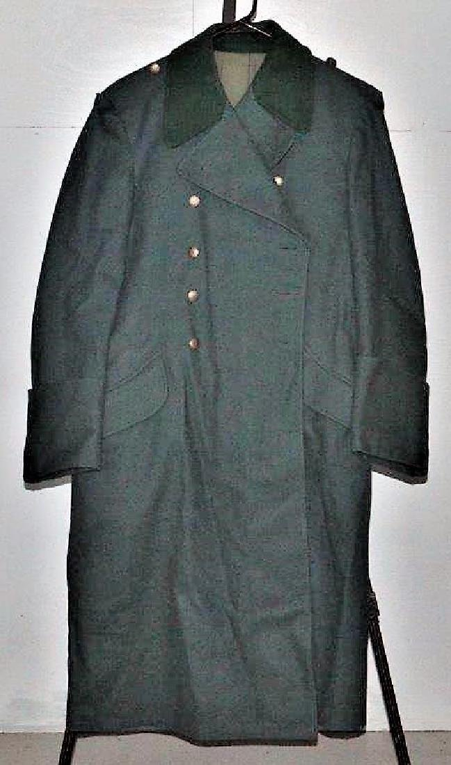 German Military Wool Overcoat by L. Louis Weber