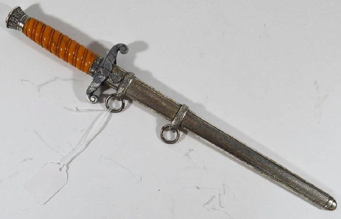 WWII German Officers Dagger by AXT-U. Hauer Fabrik - 2