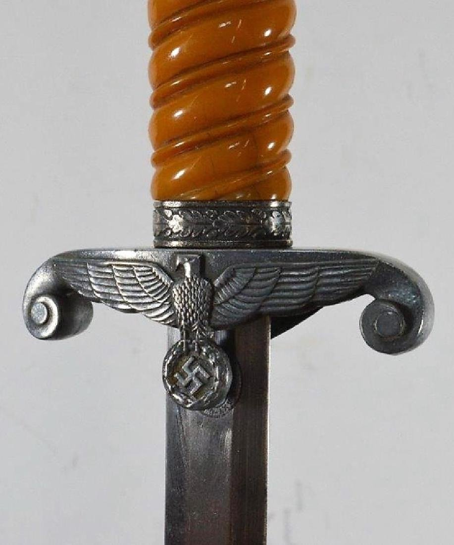 WWII German Officers Dagger by AXT-U. Hauer Fabrik - 4