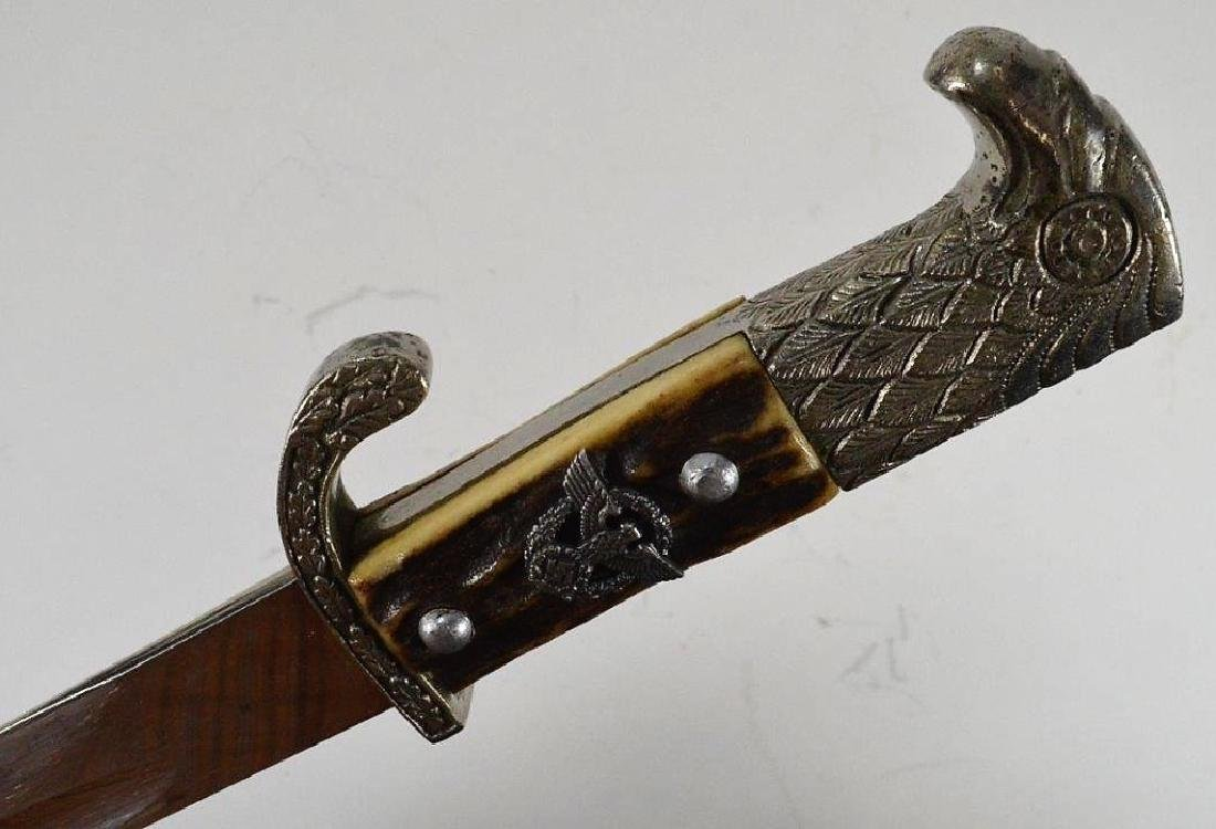 WWII German Police Dress Bayonet by F. W. HOLLER - 6