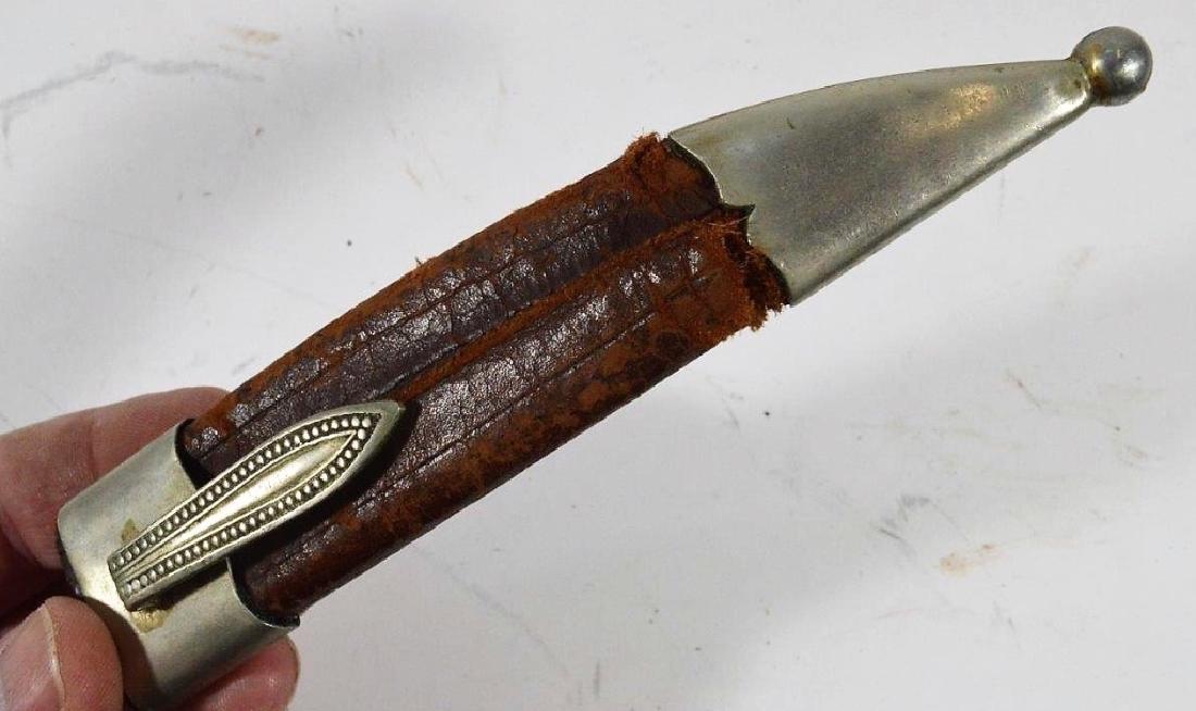 German Stag & Hoof Handle Hunting Knives (3) - 4