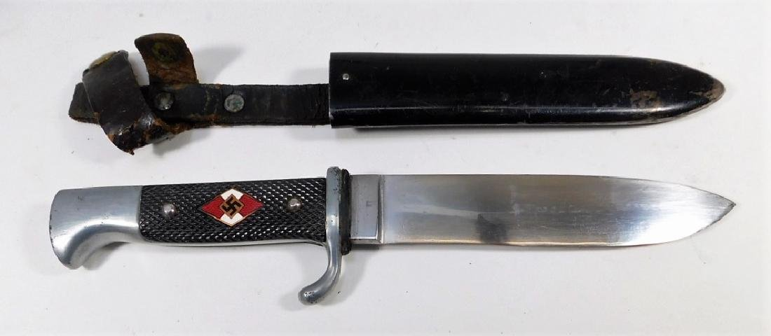 WWII Hitler Youth Knife RZM M7/25 - 2