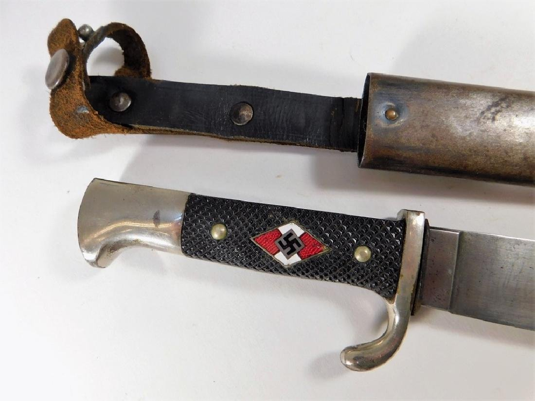 WWII Hitler Youth Knife RZM M7/51 1936 Engraved