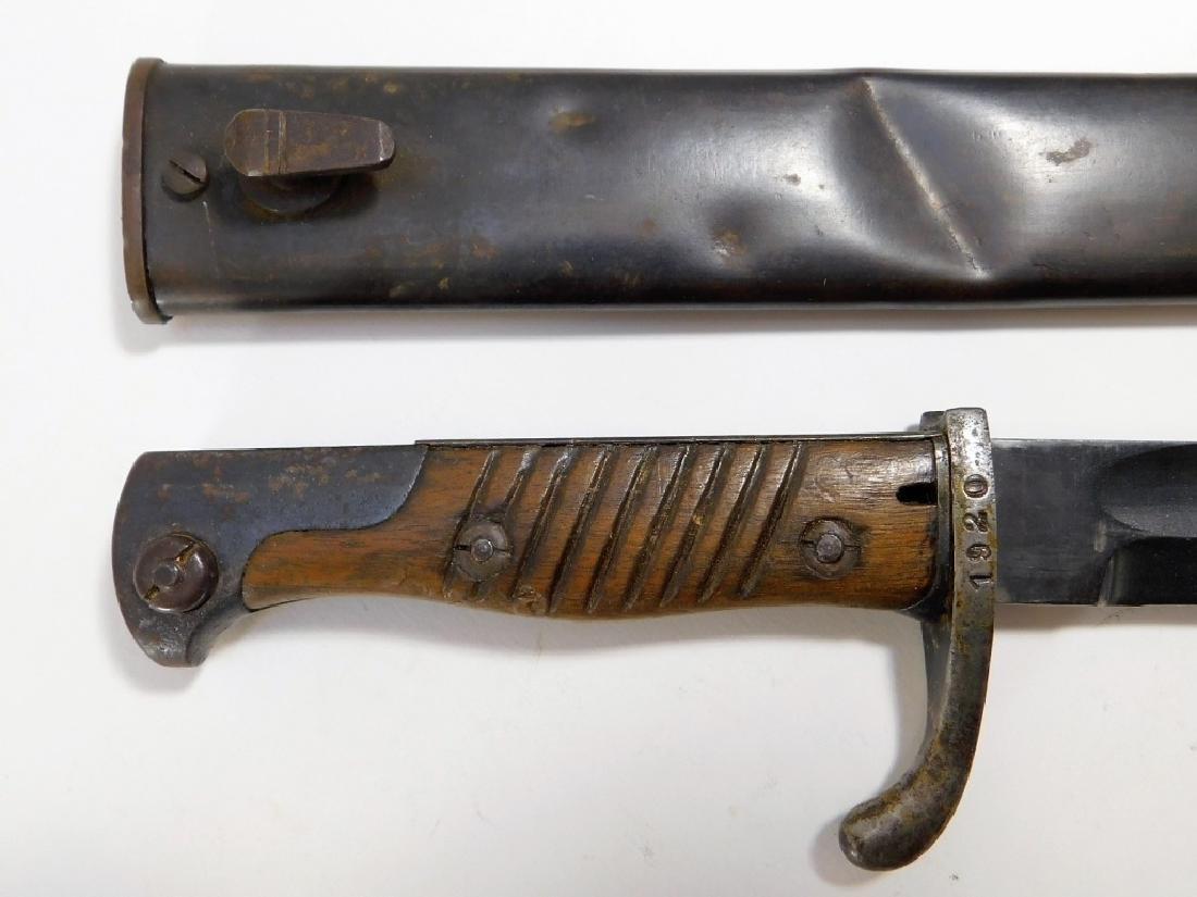 WWI German Bayonet by Alex Coppel
