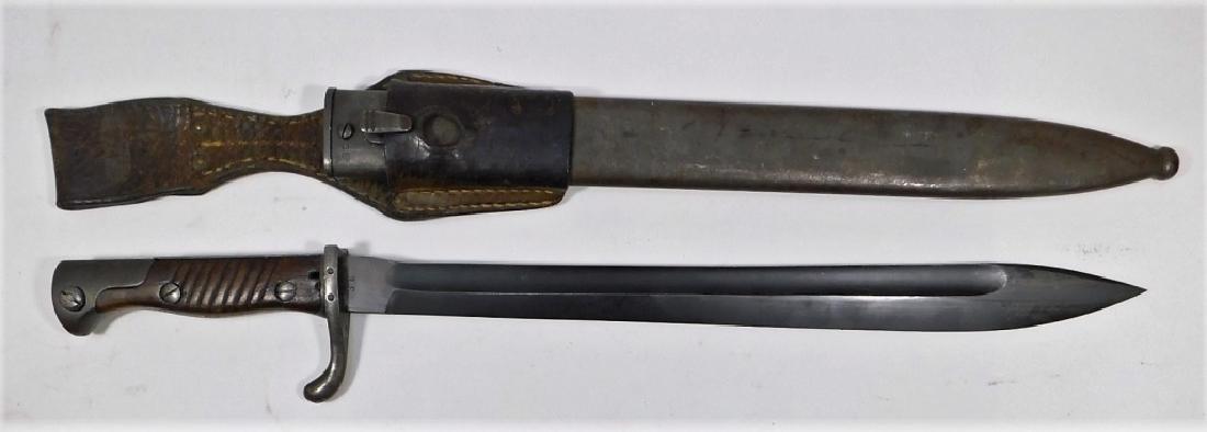 WWI German Altered Butcher Bayonet