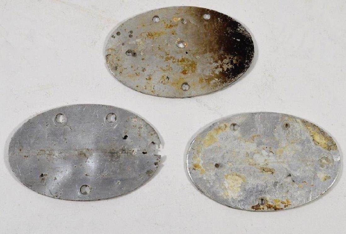 WWII German Army and Navy Dog Tags (3) - 2