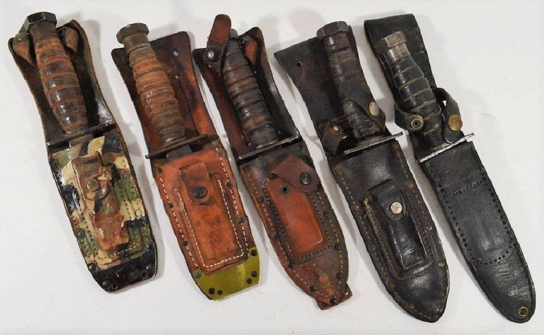 WWII - 1980 Pilots Survival Knives (5)