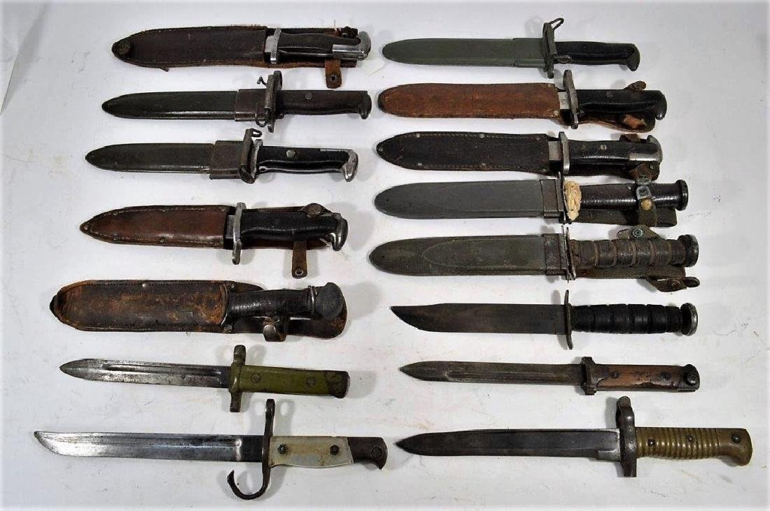 Collection of Theater or Field Alter Knives