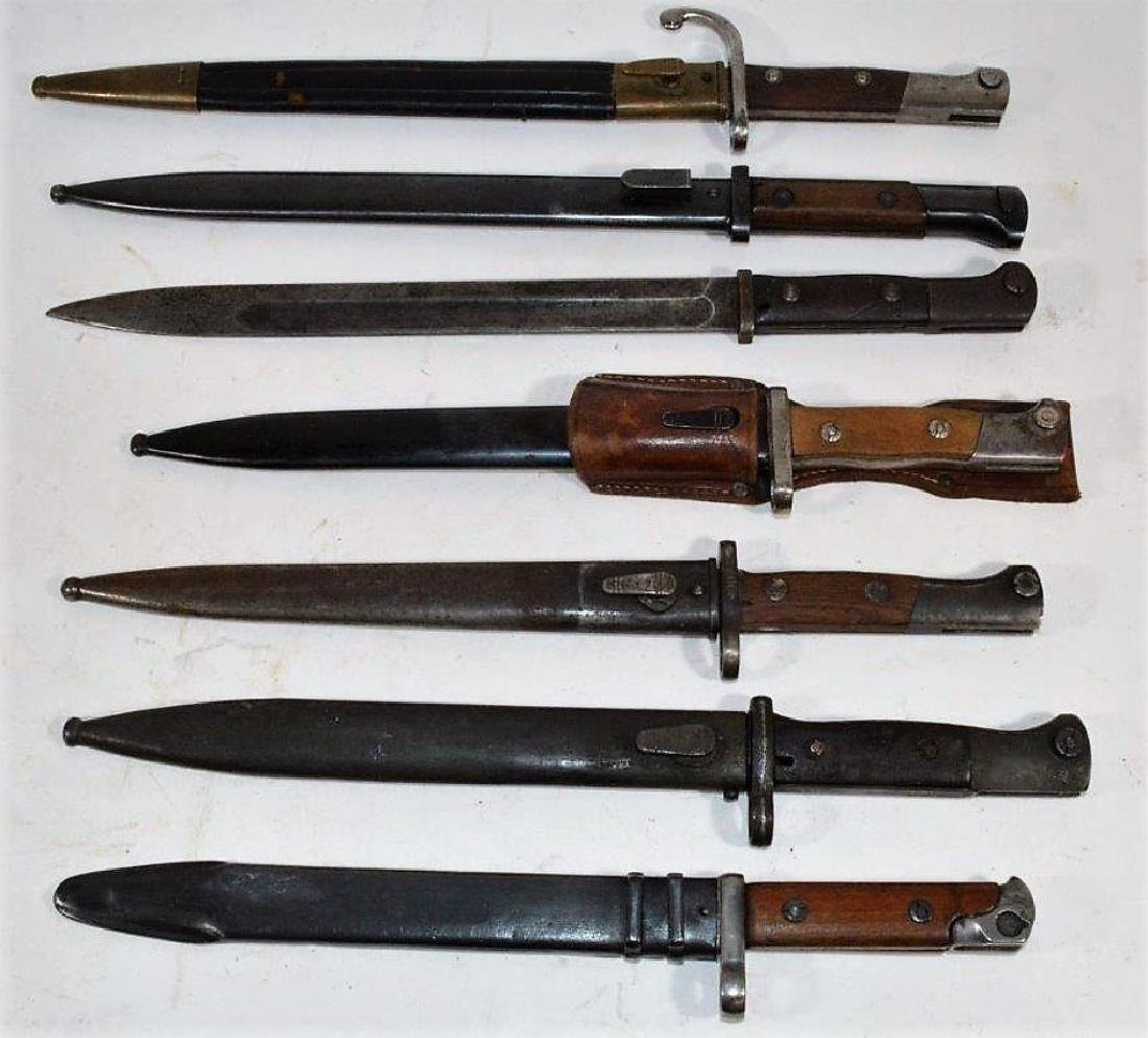 Foreign Made Bayonets for the German Mauser Rifle
