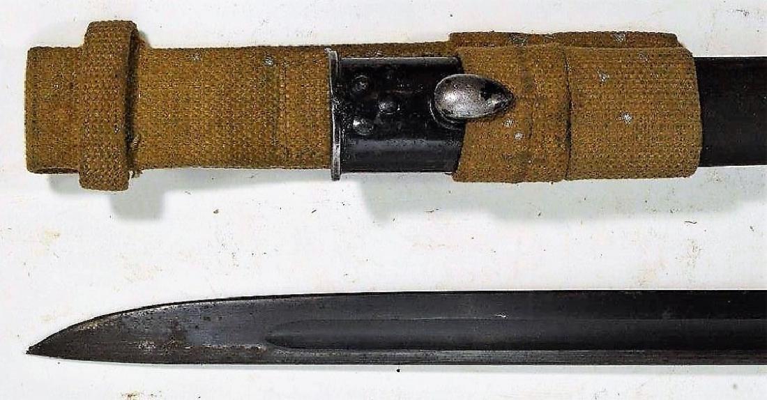 "WWII English Enfield M1907 Bayonet ""42"""