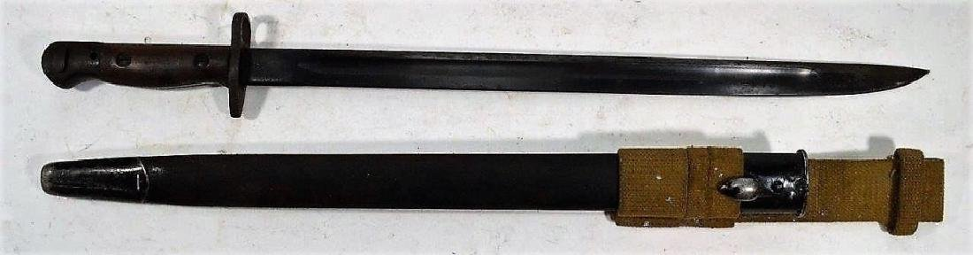 "WWII English Enfield M1907 Bayonet ""42"" - 2"