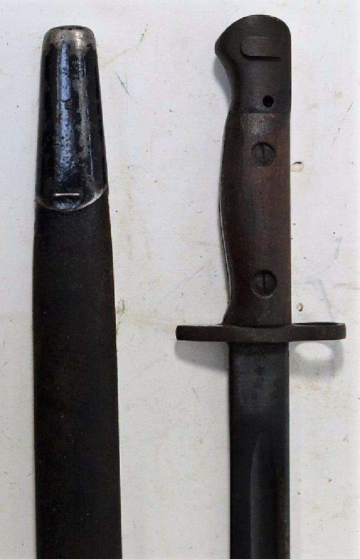 "WWII English Enfield M1907 Bayonet ""42"" - 3"