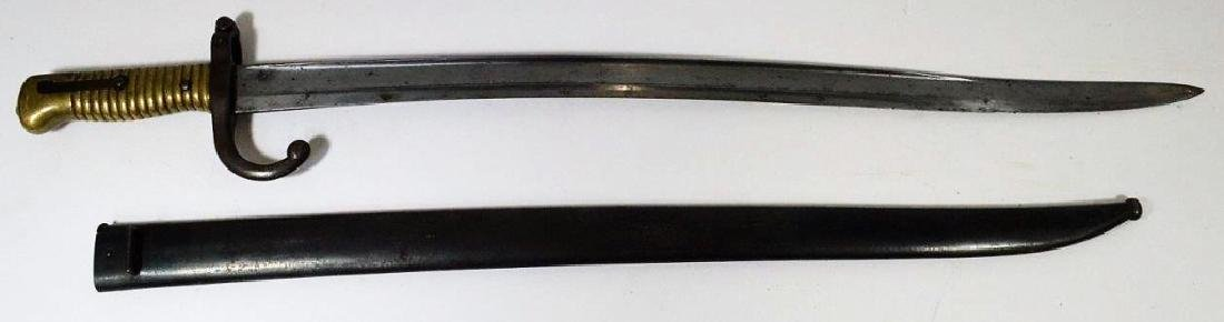 French M1866 Yataghan Sword Bayonet