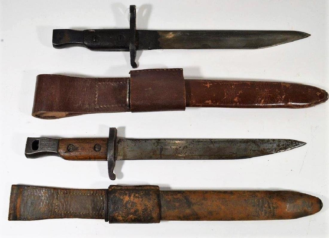 Canadian Pattern 1907 Bayonets (1) Ross Rifle Co