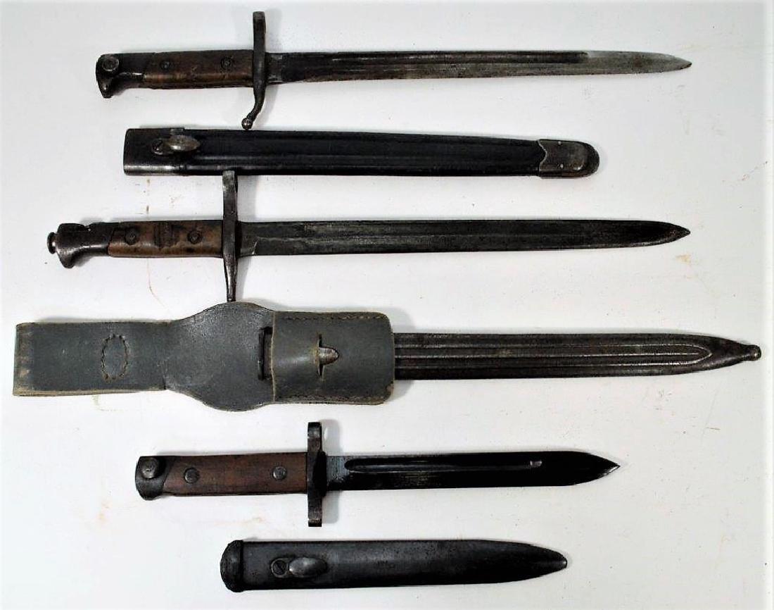 Italian M1891 and M1891 TS Carbine Bayonets