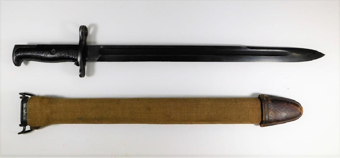 WWI Springfield Armory Bayonet Dated 1918 - 2