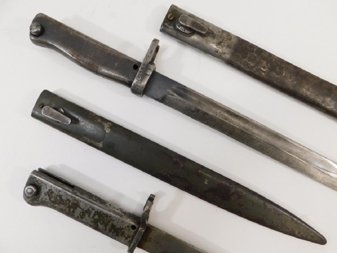 WWII German Ersatz Turkish Made Late War Bayonets