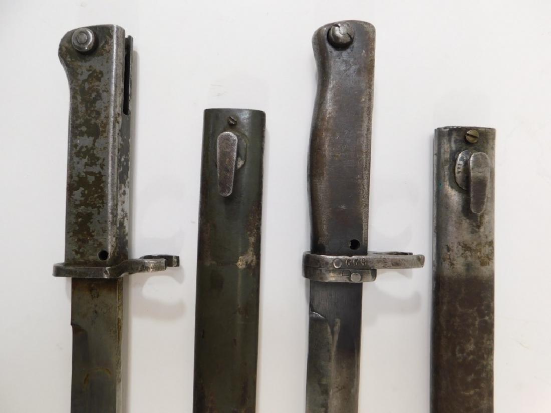 WWII German Ersatz Turkish Made Late War Bayonets - 3