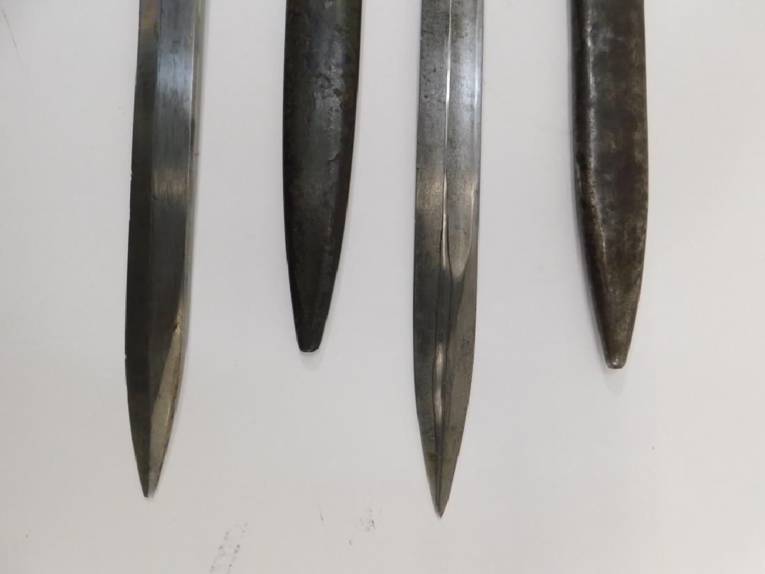 WWII German Ersatz Turkish Made Late War Bayonets - 4