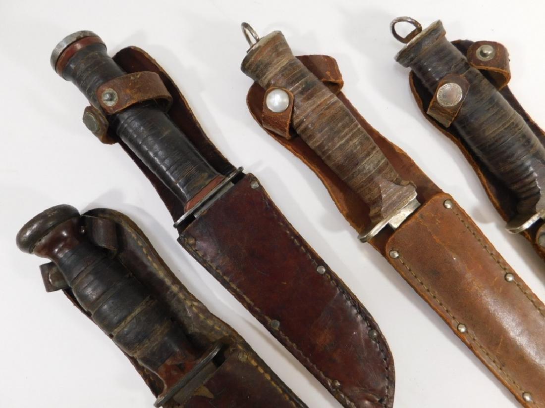 WWII - Vietnam U.S. Military Combat / Side Knives
