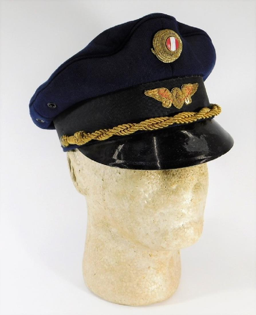 WWII Era Polish Railroad-Transportation Visor Cap
