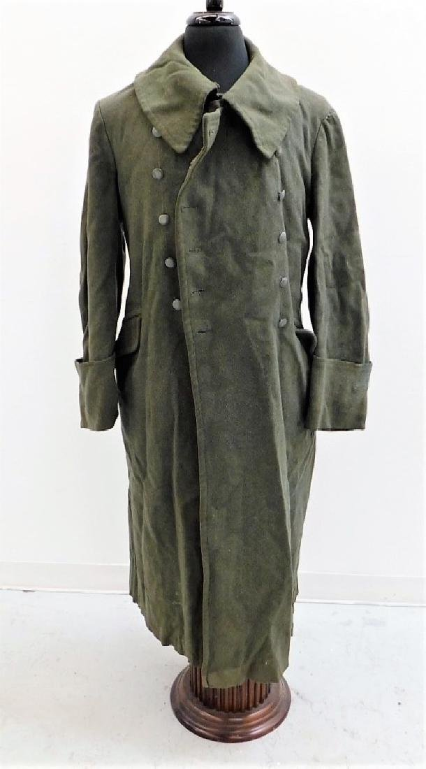 WWII German Army M40 Overcoat