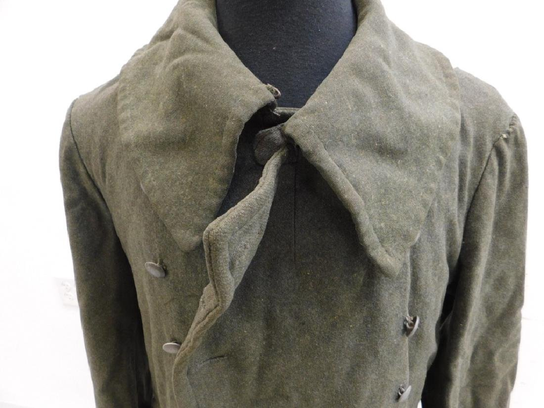 WWII German Army M40 Overcoat - 2