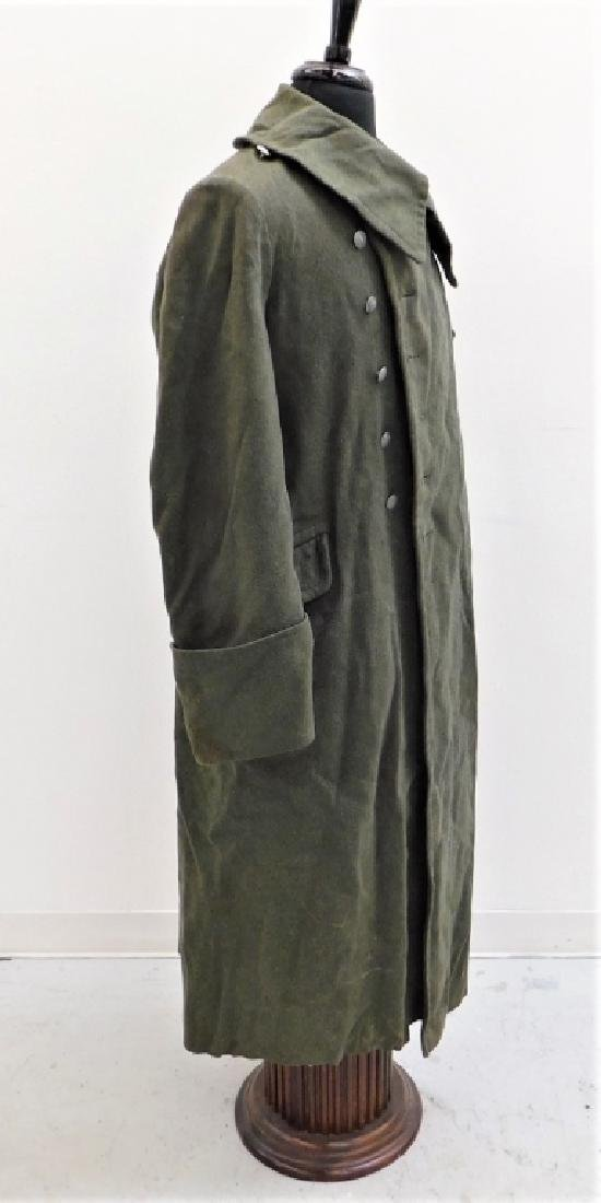 WWII German Army M40 Overcoat - 3