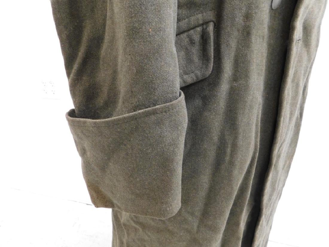 WWII German Army M40 Overcoat - 4